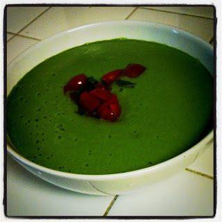 raw brococli soup