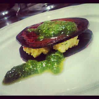 raw beet ravioli