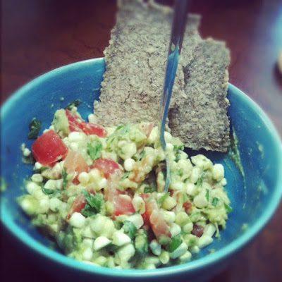 corn guac salad