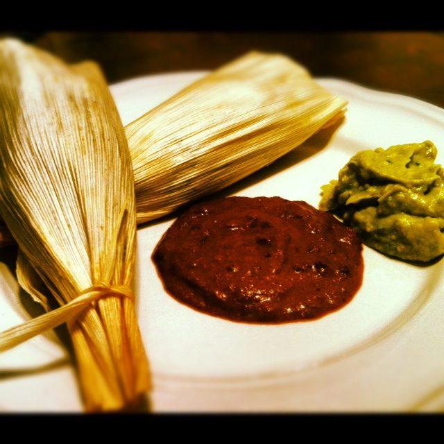 raw corn tamales