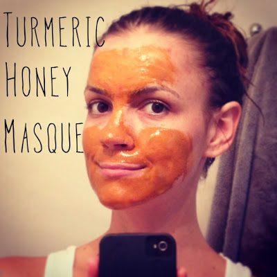 turmeric honey mask