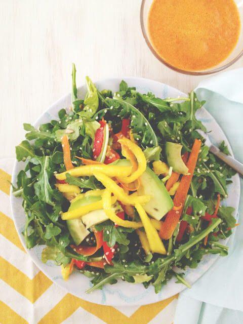 red pepper salad dressing