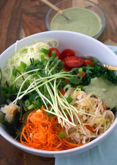 raw macro bowl